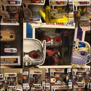 Marvel Ant-Man rare funko lot